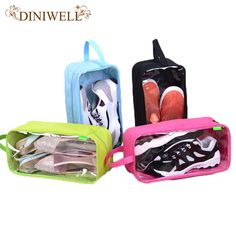 DINIWELL Waterproof Travel Outdoor Football Boot Sports Gym Shoe Tote Bag Carry Storage Case Box Organizer Container