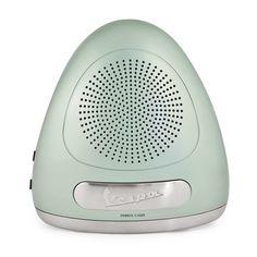 Radio Alarm Clock Green (top view) by Vespa #productdesign #industrialdesign