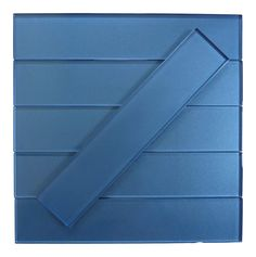 """Lustrous Yale Blue 3"""" x 14"""" Shimmer Glossy Glass Subway Tile Tiles For Sale, Glass Subway Tile, Tile Installation, Traditional Looks, Retro Home, Outdoor Projects, Indoor, Grout, Size 2"""