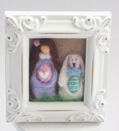Easter Decor  Easter Bunny  Easter Eggs  by MyriamPowellDesigns, $22.00