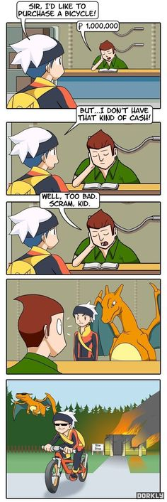 Memes and Comics For The Gamers – 30 Pics #pokemonmemes
