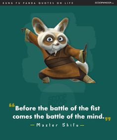 14 Life Lessons You Learn From The Infinite Wisdom Of Kung Fu Panda Dark Quotes, Wisdom Quotes, Life Quotes, Qoutes, Quotable Quotes, Kung Fu Panda Quotes, Disney Movie Quotes, Disney Sayings, Cartoon Quotes