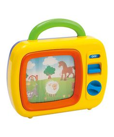 Look what I found on #zulily! My First Television Toy by Playgo #zulilyfinds