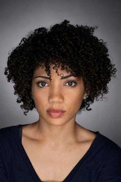 short naturally curly haircuts; short natural curly black hairstyles ...