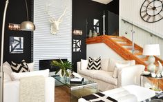 Looking for trendy design ideas for a small living room? Access images from top interior designers showcasing small living rooms with large character. Small Living Rooms, Living Room Designs, Living Room Decor, Living Spaces, Modern Living, Living Area, Decoration Inspiration, Decor Ideas, Room Inspiration
