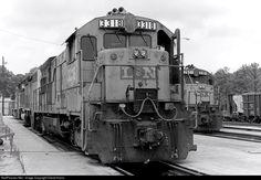 RailPictures.Net Photo: L&N 3318 Louisville & Nashville GE U23B at Gadsden, Alabama by David Harris