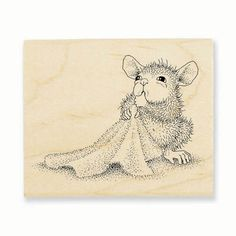 """""""BABY BLANKET"""", Stock #: HMV24, from House-Mouse Designs®. This item was recently purchased off from our web site. Click on the image to see more information."""