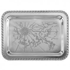 Latitudes Large Gulf Shores Tray