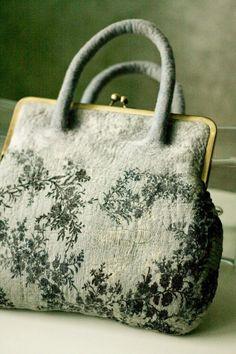 felted wool bag