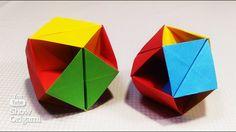 Cubo 3D modular de 6 partes