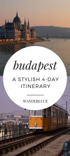 Wondering what to do on a romantic honeymoon to Budapest, Hungary in just 4 days? Check out this itinerary!