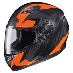 HJC CS-R3 Treague Matte Black/Neon Orange Full Face Helmet