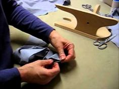 yea, a video on putting together a collar with a collar stand
