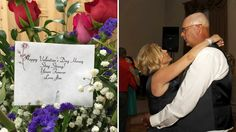 Widow's late husband shows his eternal love with Valentine's Day gift