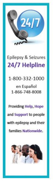 Epilepsy and seizures helpline - English & Espanol