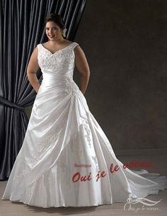 Je me verrais bien descendre l'allée dans cette robe.