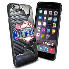 """Los Angeles Clippers Basketball Iron iPhone 6 4.7"""" Case Cover Protector for iPhone 6 TPU Rubber Case SHUMMA http://www.amazon.com/dp/B00VQ8X4ZS/ref=cm_sw_r_pi_dp_Iojewb07FB1GE"""