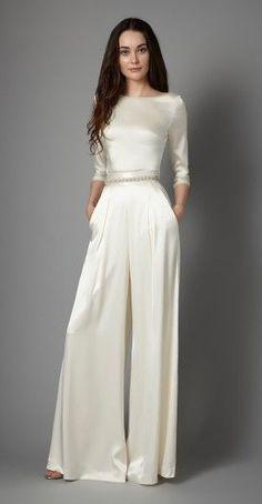 Ivory Dress Pants for Women