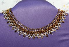 Free pattern for necklace Bronze Lace Click on link to get pattern - http://beadsmagic.com/?p=8665