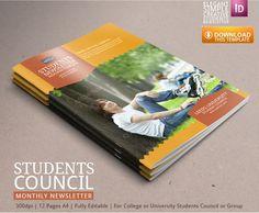 Student Newsletter Template