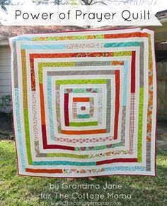 Power of Prayer Quilt and a Giveaway