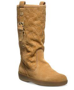 COACH TULLIP BOOT - Coach Shoes - Handbags & Accessories - Macy's