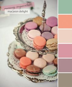 Macaron Color Palette from Chic & Cheap Nursery Blog