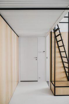 A Modern Apartment in Kraków Organized by Black Frames - Design Milk