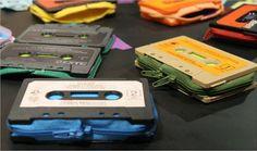 Creandi: Cartera con cinta de cassete