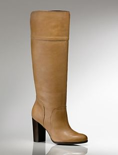 Talbots Camel Boots
