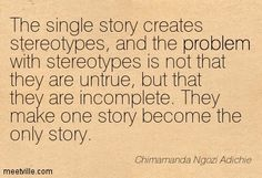 Quotes of Chimamanda Ngozi Adichie About problem, talking, people, inspirational, failure, money, death, risk, present, history, home, trave...