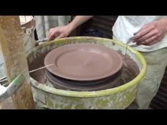 19. Dinner Plates - How-to / Production Pottery - YouTube