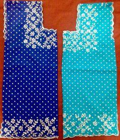 El mismo bordado con diferente color de tela