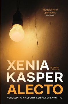 Alecto           Naast manager van sterren als Linda de Mol, Bridget Maasland en Yolanthe Sneijder-Cabeau is Xenia Kasper ook een niet onverdienstelijk auteur. Na een aantal redelijk succesvolle romans verscheen in 2011 haar eerste thriller Chimaera. Daarna volgden Ongeremd, Nemesis en het pas