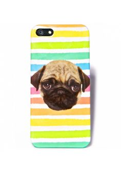 Local Heroes Rainbow Pug iPhone 5 Case | Dolls Kill