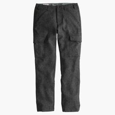 Wallace & Barnes Donegal wool cargo pant : wallace & barnes | J.Crew