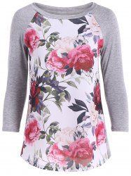 SHARE & Get it FREE | Floral Print 3D Raglan Sleeve TeeFor Fashion Lovers only:80,000+ Items • New Arrivals Daily • Affordable Casual to Chic for Every Occasion Join Sammydress: Get YOUR $50 NOW!