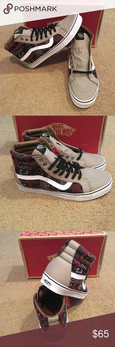 11a1696476 Inca SK8Hi Reissue Vans New in box. Moon Rock Dachshund Vans Shoes Sneakers  Footwear