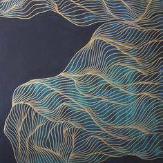 remember to forget - Tracie Cheng Art Painting Inspiration, Art Inspo, Tracie Cheng, Acrylic Artwork, Tecno, Lovers Art, Line Art, Abstract Art, Abstract Shapes