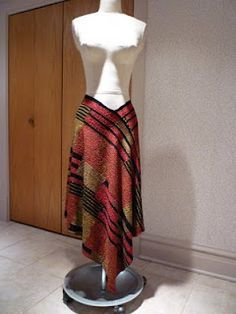 I made a skirt like this 10+ years ago, and have been scouring the interwebs for the tutorial - found it! (Though... I put a waistband on mine.) Many of these will be made in the near future!