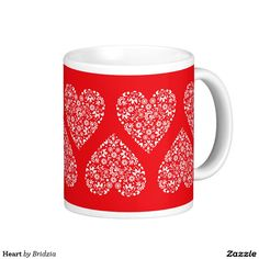 Heart Classic White Coffee Mug