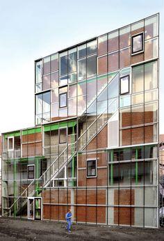 Les Ballets C de la B and LOD by architecten de vylder vinck taillieu