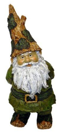 Amazon.com: Terrapin Trading Stomper Woodland Gnome: Patio, Lawn & Garden
