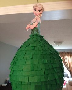 Disney Princess Pinata Elsa Frozen Fever by BobbiGirlBoutique