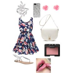 A fashion look from February 2015 featuring Wet Seal sandals, Mulberry handbags and Joëlle Jewellery rings. Browse and shop related looks.