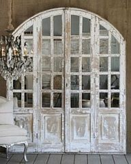 french distressed doors - Google Search