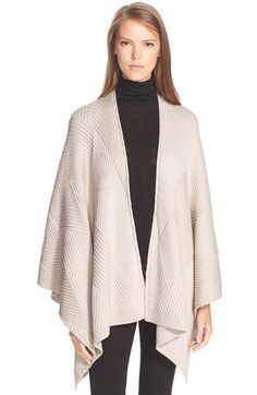 rag & bone 'Blithe' Merino Wool Poncho available at #Nordstrom