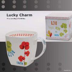 Marigold Houseware Loveramics Lucky Charm 17-Ounce Mug