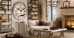 Home Shabby HomeIndustrial chic and French style