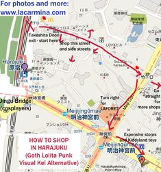 Tokyo Map Tourist Attractions Httptravelquazcomtokyomap - Japan map tourist attractions
